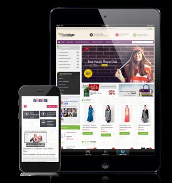 Bikin web online shop