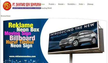 portfolio reklame neonbox