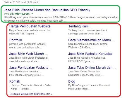 Google Menghapus Sitelinks Di Google Webmaster