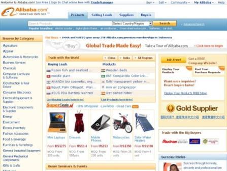 alibaba.com supplier cina